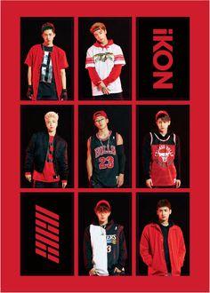 Kim Jinhwan, Chanwoo Ikon, Hanbin, Koo Jun Hoe, Jay Song, Ikon Kpop, Ikon Debut, Ikon Wallpaper, Korean Boy Bands