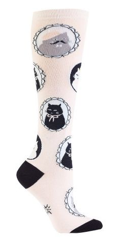 super fancy cameo cat knee highs from www.shopbergies.com