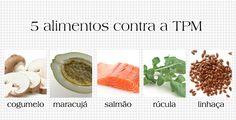 TOP 5 alimentos para afastar o mau humor da TPM: http://abr.ai/1e5f751