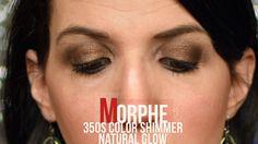 Morphe 35OS Color Shimmer Natural Glow Palette Bronze Mocha Shimmer
