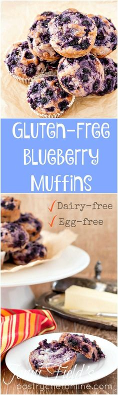 This dairy-free blueberry muffin recipe is also egg-free and gluten-free. So, while I made it as a #sponsored post for Silk, it really checks all the boxes and is a delicious and easy recipe for folks looking for a fast gluten-free blueberry muffin recipe