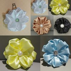 Corsage Same way different looks by colours, size, and quality of ribbons.