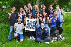 Kids traveling to create art on Galiano, Island BC Canada Teacher Education, Art Education, Douglas Coupland, Vancouver Art Gallery, Traveling Teacher, University Of British Columbia, My Kind Of Love, Becoming A Teacher, Environmental Issues