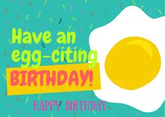 Wish your loved ones an exciting #birthday with this fun #happybirthday #card