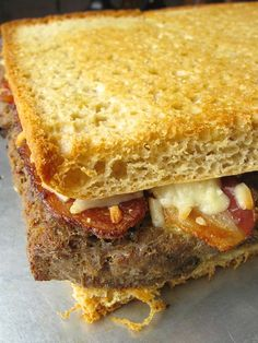 Cincinnati Chili, Oven-Grilled Meatloaf Sandwich