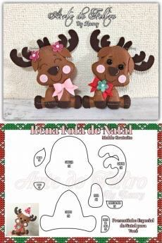 - Simple Easter Crafts For Kids - - Fun Christmas Crafts For Kids Felt Christmas Decorations, Felt Christmas Ornaments, Christmas Wood, Christmas Projects, Felt Crafts, Decor Crafts, Diy And Crafts, Christmas Crafts, Crafts For Kids