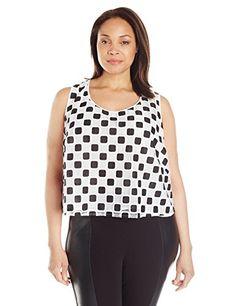 9e91b39508e Modamix Women s Plus Size Lace Crop Top