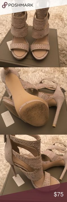 BCBG Maxazria Nude Chinois Snake shoes BCBGMAXAZRIA Freda Nude Chinois sandals. Worn only once, excellent condition. BCBGMaxAzria Shoes Heels