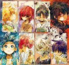 Tags: Nuriko-kun, Judal, MAGI: The Labyrinth of Magic, Aladdin (Magi), Ali Baba Saluja, Ja'far