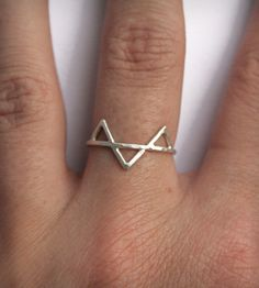 Silver Three Spikes Ring | Women's Jewelry | SteFanie Sheehan Designs | Scoutmob Shoppe | Product Detail