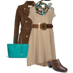 """""""fall turquoise"""" by bethany-k on Polyvore"""