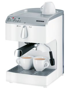 Invite your friends round for coffee, love this coffee machine, complete with cup warmer and milk frother. www.pricerunner.c...