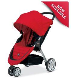 Britax B-AGILE - our stroller of choice, but in Kiwi!