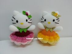 Tutorial amigurumi Hello Kitty - Falda (mod-10)