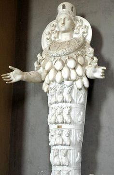 Statue of Artemis - Vatican Museum - Catholic Rome built upon Pagan Rome.