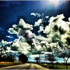 Northern California sky.