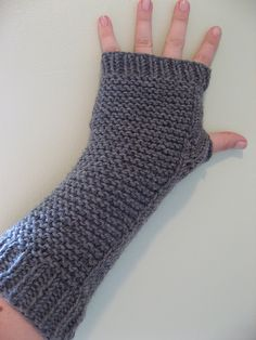 chunky arm warmers/fingerless gloves