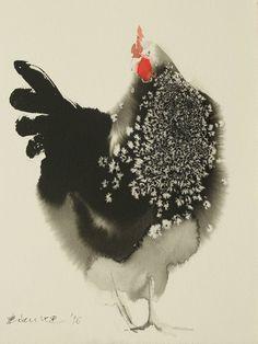 "Saatchi Art Artist Endre Penovác; Painting, ""Glancing"" #art"