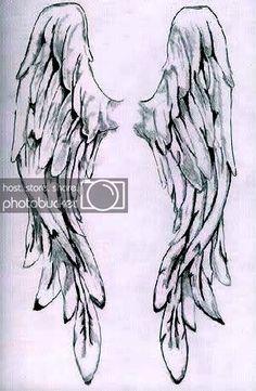 Pencil Drawings of angel wings - Bing Images Drawing Sketches, Pencil Drawings, Art Drawings, Drawings Of Angels, Angel Wings Drawing, Angel Wings Painting, Vintage Illustration, Angel Art, Angel Wings Art