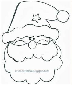 15 DIY Santa Claus Sewing Patterns and Ideas Christmas Applique, Christmas Sewing, Christmas Embroidery, Christmas Pillow, Christmas Crafts, Felt Christmas Decorations, Felt Christmas Ornaments, Christmas Colors, Christmas Holidays