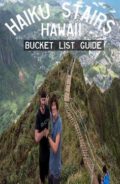 Guide: Haiku Stairs – Stairway to Heaven, Hawaii Book Corners, Responsible Travel, Stairway To Heaven, Group Travel, Travel Memories, Yoga Retreat, Guide Book, Stairways, Travel Guides