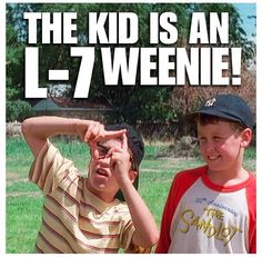 "The Sandlot ❤ ""He's a square Benny, the kid's a square."""
