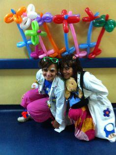 ogni volta in ospedale si scoprono emozioni nuove #clown #smile