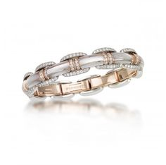Seta Collection - Picchiotti Diamonds & Mother-of-Pearl Bracelet