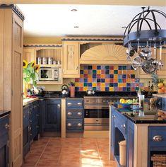 The Santa Fe Kitchen by Mark Wilkinson Furniture