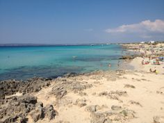 """See 121 photos and 10 tips from 756 visitors to Platja de Mitjorn. """"One of the best beach in Formentera"""" Four Square, Beach, Travel, Viajes, The Beach, Beaches, Destinations, Traveling, Trips"""