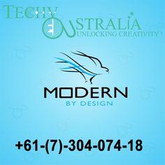 +61-(7)-30-40-7418 Techy Australia  Skill for Best Logo Design