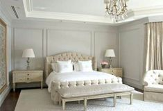 Best Ideas bedroom wall decor above bed crown moldings Wall Behind Bed, Bedroom Wall Decor Above Bed, Bed Wall, Bedroom Decor, Bedroom Wall Panels, Wainscoting Bedroom, Basement Guest Rooms, Wall Molding, Molding Ideas