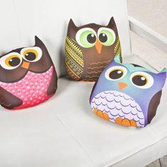 Que estos lindos búhos resguarden los sueños de tus pequeños ¡Ideales para adornar el cuarto de tus niños!