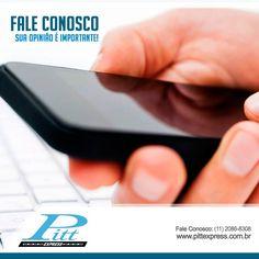 Sua opinião vale muito pra gente. Entre em contato conosco!  http://www.pittexpress.com.br/contato-pitt-express.html