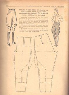 modeling pants