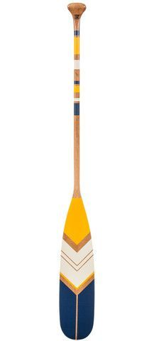 Hand painted canoe paddle. The ultimate nautical decoration item. By Ropes and Wood www.ropesandwood.com