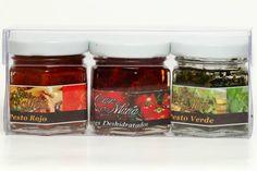 Ideales para regalos y recuerditos de eventos como Bautizos, Baby showers y Despedidas de Soltera #gourmet #artesanal #handmade #deli #delicious #pesto #sundriedtomatoes #tomatoes