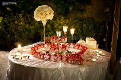 http://www.lemienozze.it/gallerie/foto-fiori-e-allestimenti-matrimonio/img27038.html Il tavolo delle bomboniere matrimonio