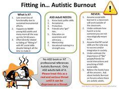 Autistic Burnout Autism Quotes, Autism Humor, Aspergers Women, Understanding Autism, High Functioning Autism, Executive Functioning, Adhd And Autism, Feminism, Psychology