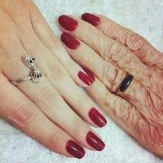 Great grandmother and granddaughter picture <3