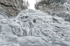 From viewer Eric Haggart - Frosty Cullasaja Falls