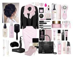 """Pinky Swear"" by e-atha on Polyvore featuring Balmain, Boohoo, Falke, Ralph Lauren, Kate Spade, Casetify, NARS Cosmetics, Essie, Lancôme and Yves Saint Laurent"