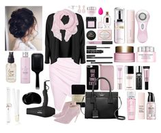 """Pinky Swear"" by e-atha on Polyvore featuring Balmain, Boohoo, Falke, Ralph Lauren, Kate Spade, Casetify, NARS Cosmetics, Essie, Lancôme and Yves Saint Laurent"