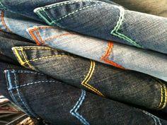 Jacob Cohen back pocket #JacobCohen #denim #jeans #tailoredjeans
