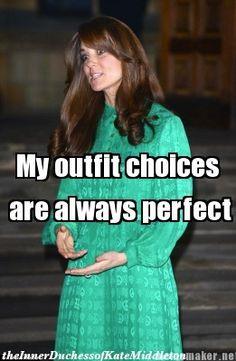 Always (The Inner Duchess of Kate Middleton)