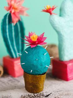 DIY Foam Cactus