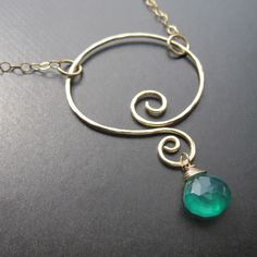 Genie Interchangeable Necklace, wear it alone or add different charms