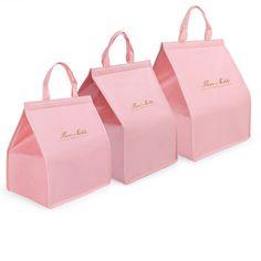 Custom Cheese Cake Sweet Box Food Packaging Box With Handle - Buy Custom Sweet P. Cake Boxes Packaging, Bakery Packaging, Cookie Packaging, Cute Packaging, Packaging Design Box, Chocolate Box Packaging, Dessert Packaging, Packing Box Design, Karton Design