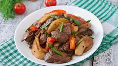 Restovaná pečeň so zeleninou Pot Roast, Beef, Ethnic Recipes, Food, Carne Asada, Meat, Roast Beef, Essen, Meals