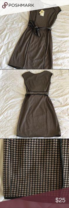 NWT Houndstooth Dress Never worn. Dresses